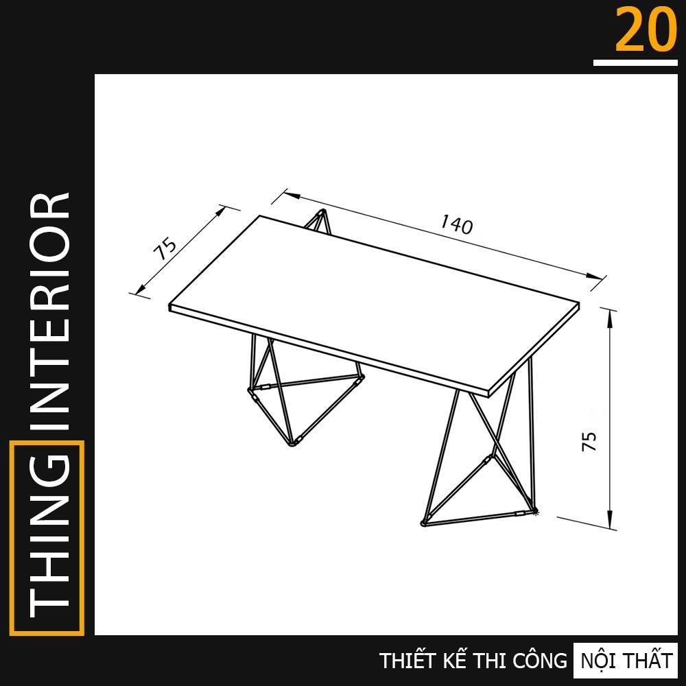 kích thước bàn làm việc tại nhà