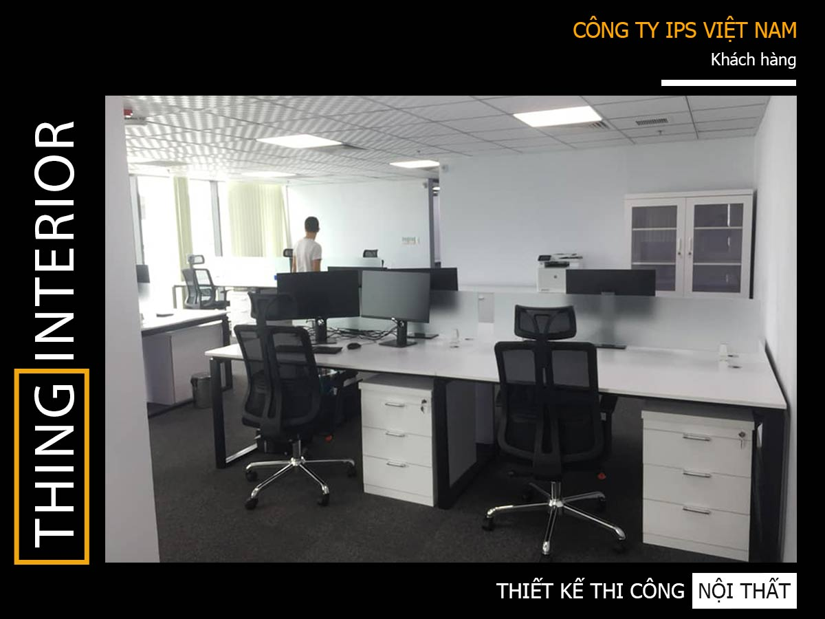 dự án thi công bàn văn phòng