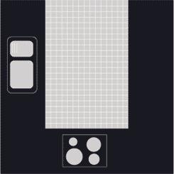 mẫu bếp hình chữ U