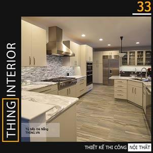 ảnh tủ bếp công nghiệp mẫu 33
