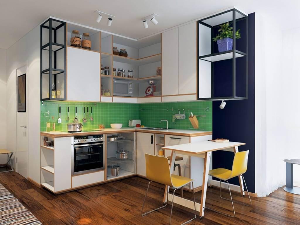 tủ bếp đẹp mẫu 16