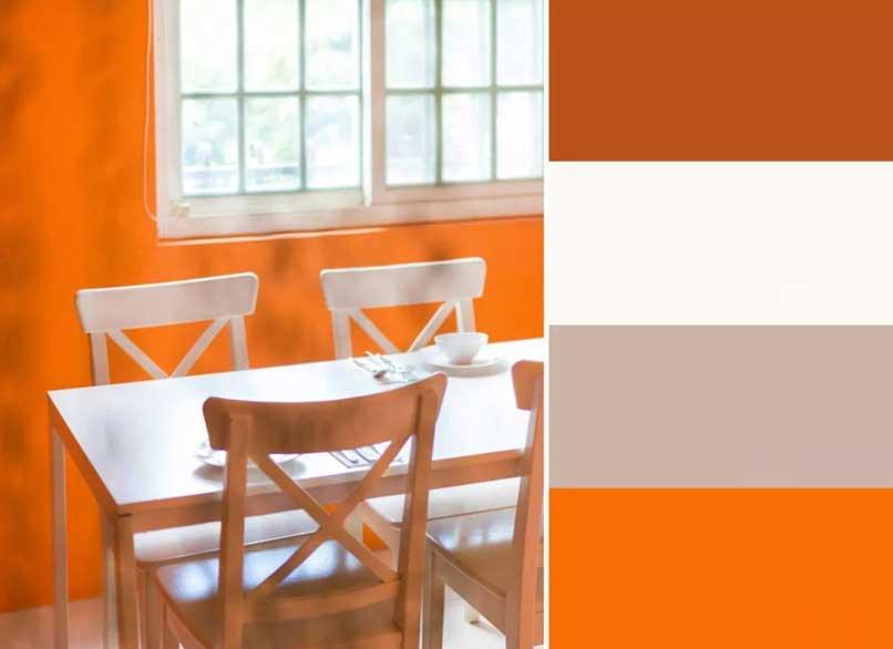 cam và trắng