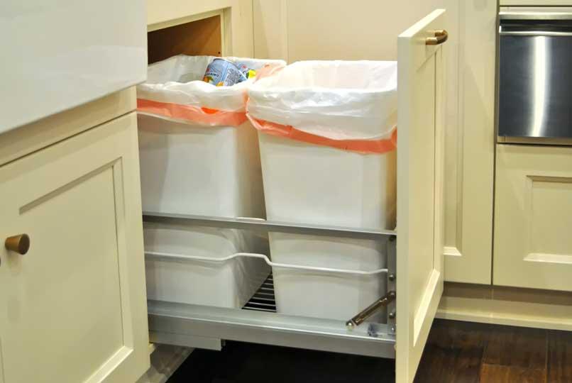 ngăn chứa rác cho nhà bếp