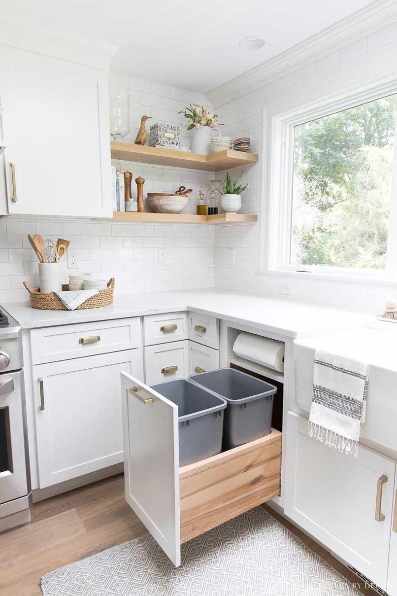 ngăn chứa rác tủ bếp
