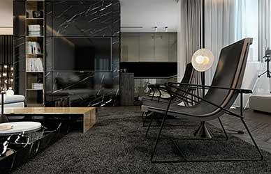 thiết kế thi công phòng khách