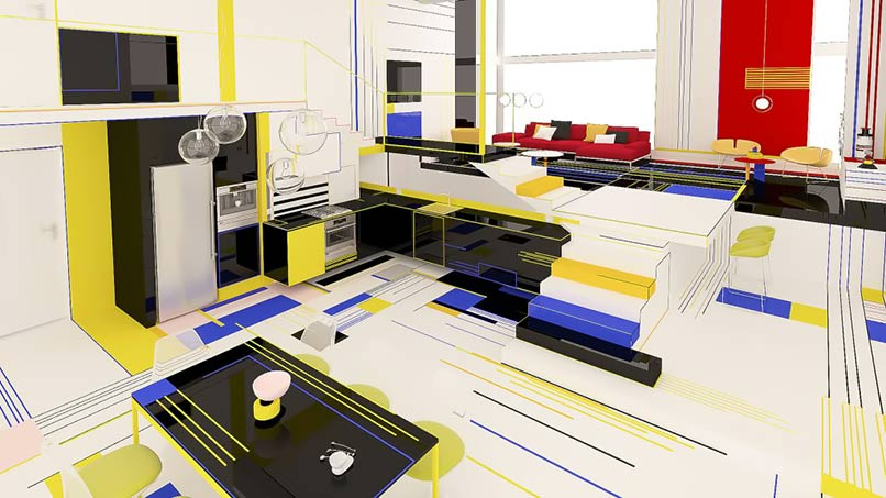 ý tưởng thiết kế nội thất đẹp