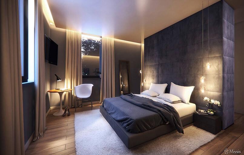 20 ý Tưởng Thiết Kế Phòng Ngủ Hiện đại (4)