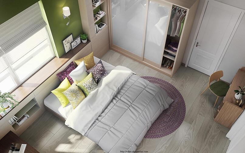20 ý Tưởng Thiết Kế Phòng Ngủ Hiện đại (7)