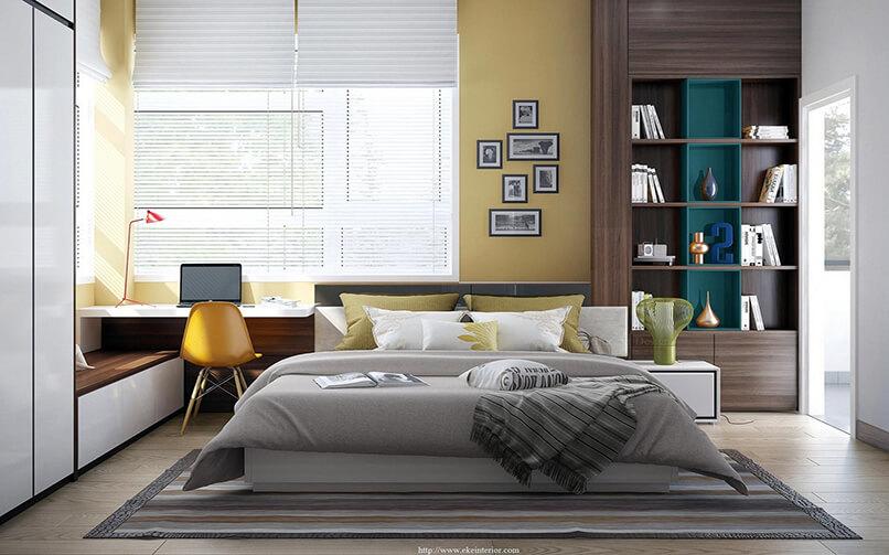20 ý Tưởng Thiết Kế Phòng Ngủ Hiện đại (8)
