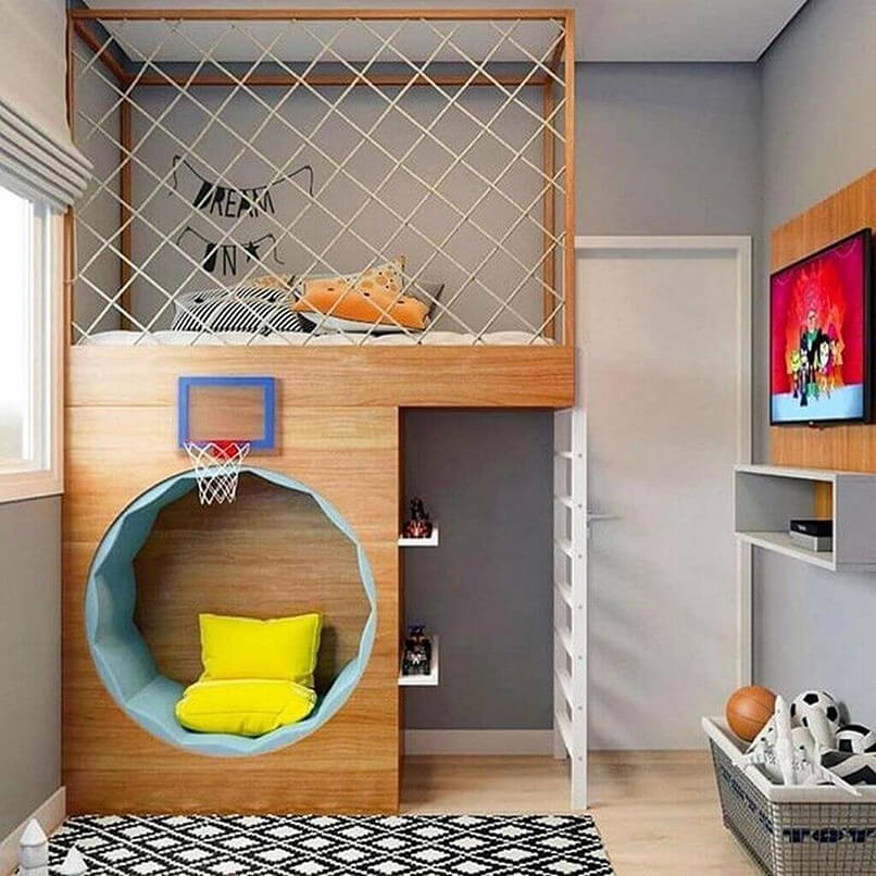 30 Ý Tưởng Thiết Kế Phòng Ngủ Cho Trẻ Em (11)