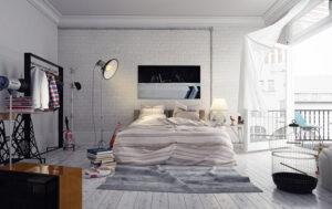 đầu giường nên đặt sát tường