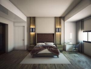 đầu giường phòng ngủ