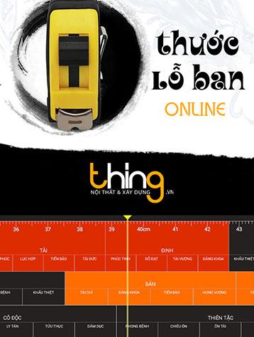 thước Lỗ Ban online VN THING
