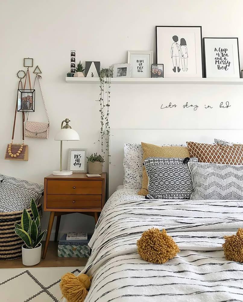 Trang trí phòng ngủ Chill phết