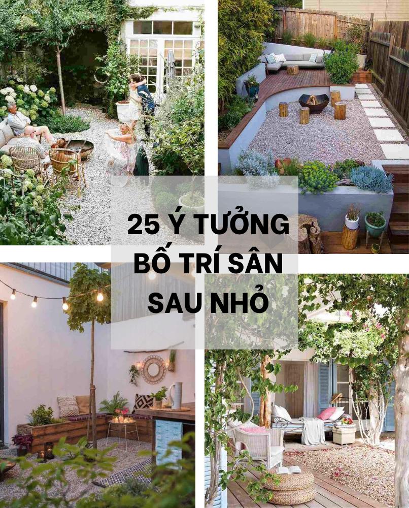 25 Y Tuong Bo Tri San Sau Nho