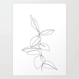bản in nghệ thuật tối giản (12)