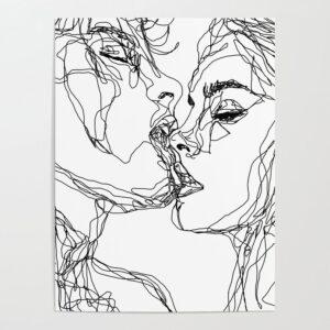 bản in nghệ thuật tối giản (16)