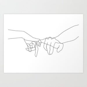 bản in nghệ thuật tối giản (9)