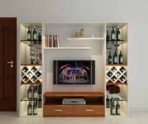 kệ tivi có tủ rượu (2)