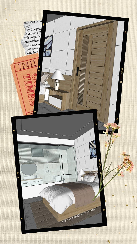 thiết kế nội thất nhà nghỉ Đà Nẵng