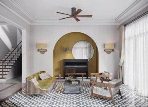 thiết kế nội thất thanh lịch đẹp (5)