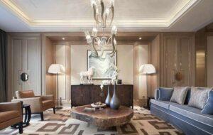 45 ý tưởng phòng khách tân cổ điển (1)