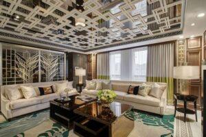 45 ý tưởng phòng khách tân cổ điển (2)