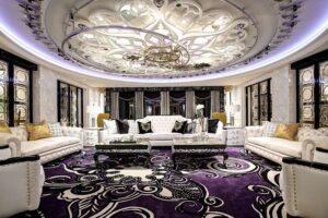 45 ý tưởng phòng khách tân cổ điển (4)
