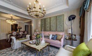45 ý tưởng phòng khách tân cổ điển (6)