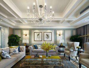 45 ý tưởng phòng khách tân cổ điển (9)