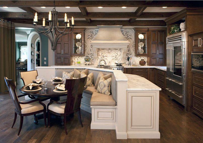 kết hợp giữa phòng khách và phòng bếp (2)