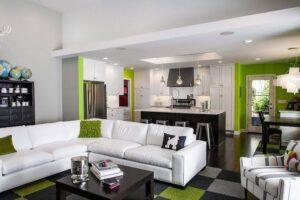 kết hợp giữa phòng khách và phòng bếp (3)