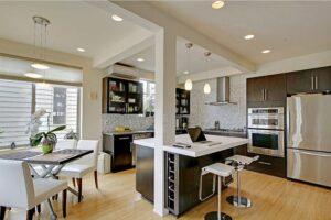 kết hợp giữa phòng khách và phòng bếp (6)