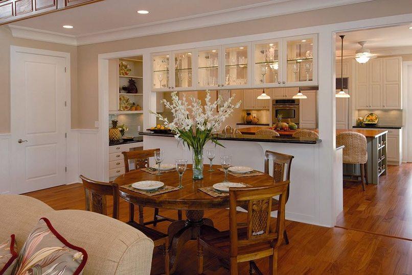 kết hợp giữa phòng khách và phòng bếp (8)