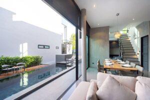 thiết kế nhà theo không gian mở (2)