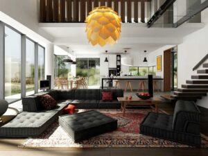 thiết kế nhà theo không gian mở (7)