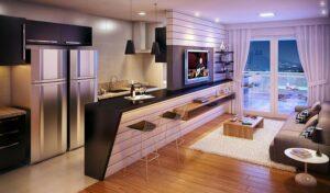 thiết kế nhà theo không gian mở (9)