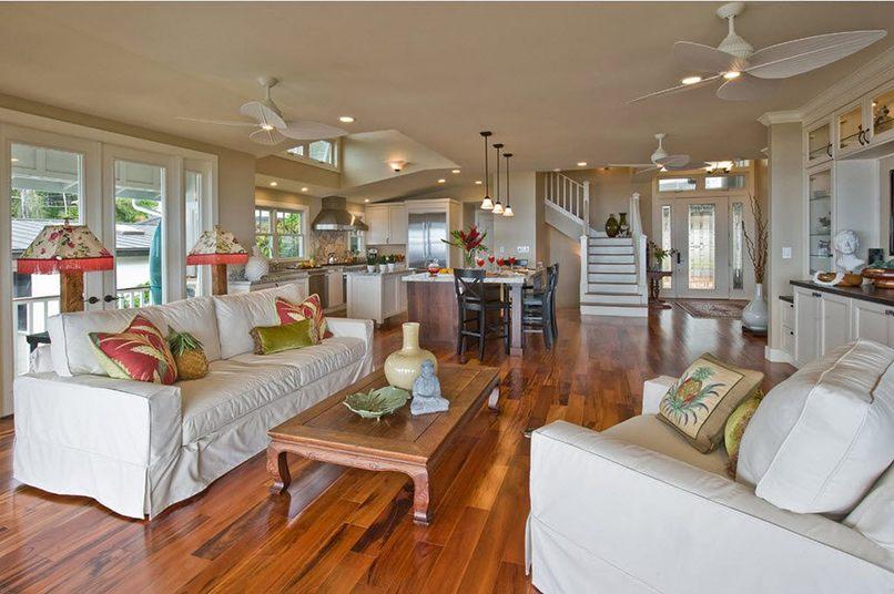 thiết kế phòng bếp và phòng khách kết hợp (7)