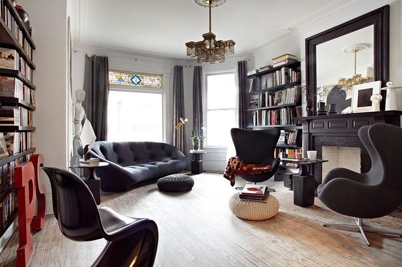 bố trí không gian nội thất đen (6)