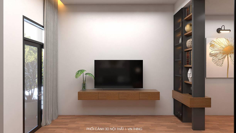 ke tivi trong phong ngu