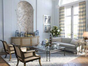những phòng khách tân cổ điển đẹp nhất (2)