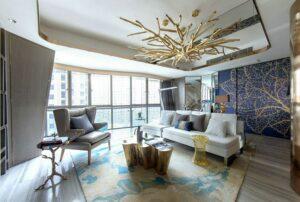 những phòng khách tân cổ điển đẹp nhất (3)