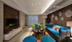 những phòng khách tân cổ điển đẹp nhất (4)