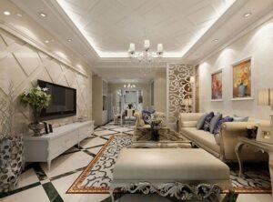 những phòng khách tân cổ điển đẹp nhất (6)