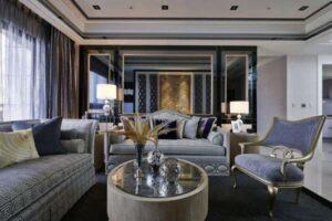 phòng khách tân cổ điển (7)