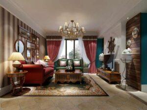 phòng khách tân cổ điển (8)