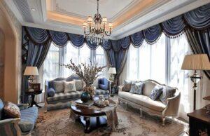 phòng khách tân cổ điển đơn giản (2)