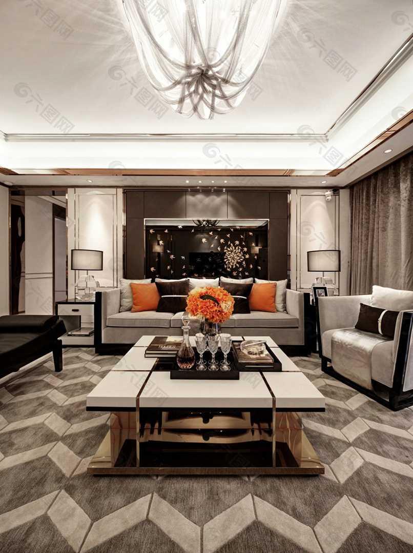 phòng khách tân cổ điển đơn giản (6)
