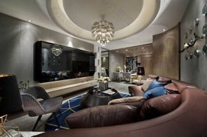 phòng khách tân cổ điển đơn giản (7)