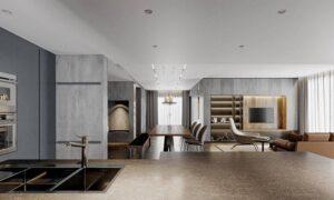 thiết kế không gian mở đẹp (7)